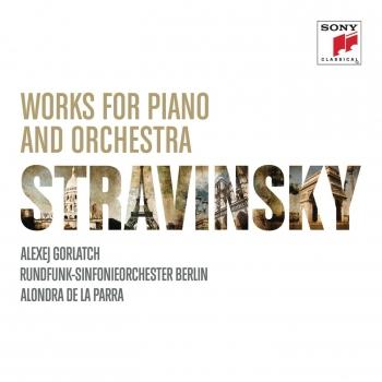 Cover Stravinsky: Works for Piano and Orchestra