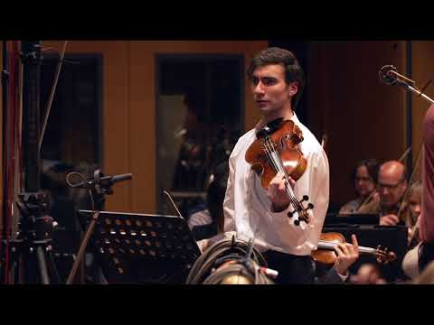 Video David Aaron Carpenter records Alexey Shor: Lullaby for Mark (viola)