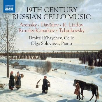 Cover 19th Century Russian Cello Music