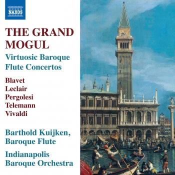 Cover The Grand Mogul: Virtuosic Baroque Flute Concertos