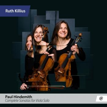 Cover Hindemith: Complete Sonatas for Viola Solo