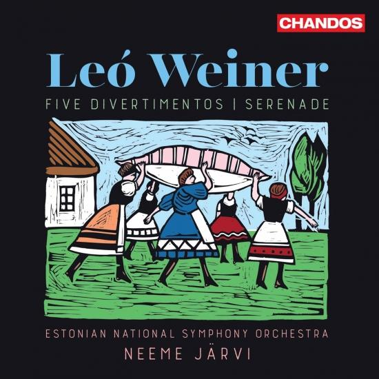 Cover Weiner: Serenade in F Minor, Op. 3 & 5 Divertimentos (Live)