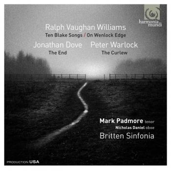 Cover Works by Vaughan Williams / Jonathan Dove / Peter Warlock