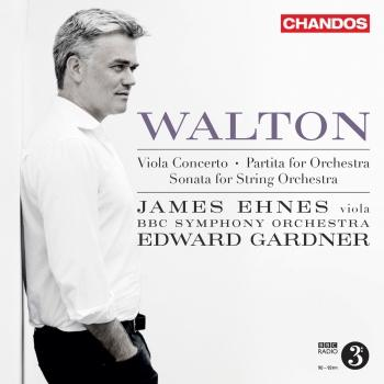 Cover Walton: Viola Concerto, Sonata for String Orchestra & Partita for Orchestra