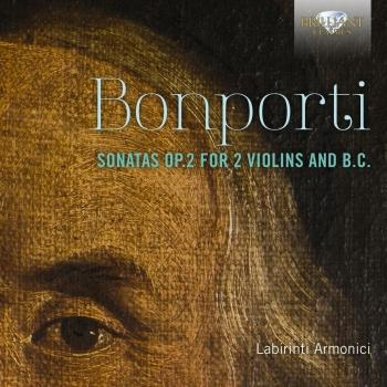 Cover Bonporti: Sonatas, Op. 2 for 2 Violins and B.C.