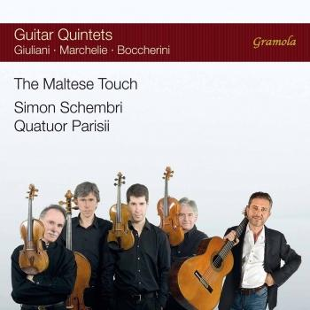 Cover The Maltese Touch: Guitar Quintets