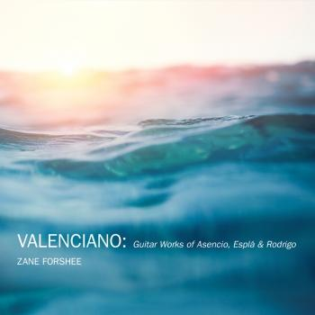 Cover Valenciano: Solo Guitar Works of Asencio, Espla & Rodrigo