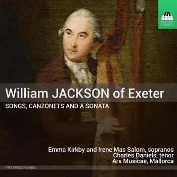 Cover Jackson: Songs, Canzonets, and a Sonata