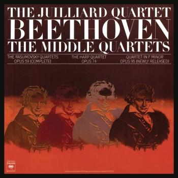 Cover Beethoven: The Middle Quartets, Op. 59 Nos. 1 - 3; Op. 74 & Op. 95 (Remastered)