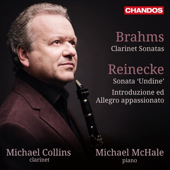 Cover Brahms & Reinecke: Works for Clarinet & Piano