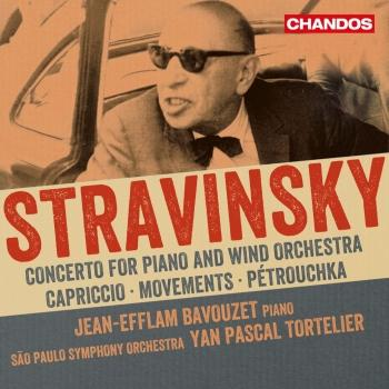 Cover Stravinsky: Works for Piano & Orchestra