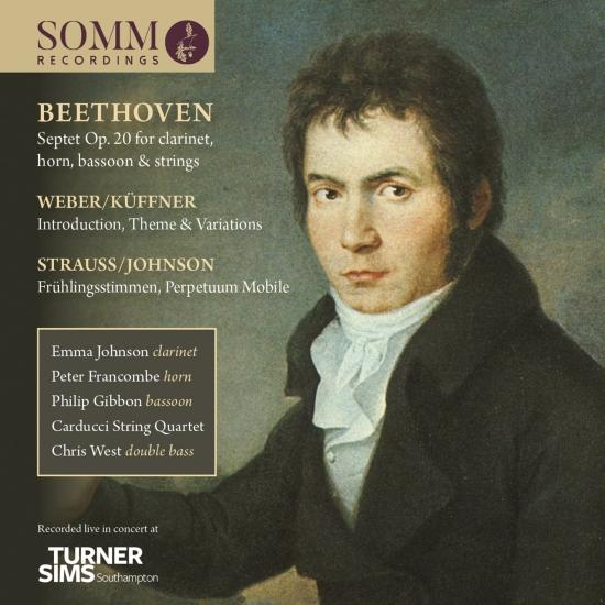 Cover Beethoven, Küffner & Strauss: Chamber Works