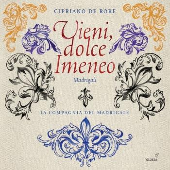 Cover Rore: Vieni dolce Himineo & Other Madrigals