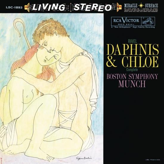 Cover Ravel: Daphnis et Chloé, M. 57 / 1955 Recording (Remastered)