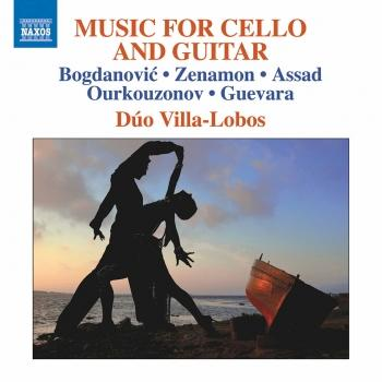 Cover Bogdanović, Zenamon, Assad, Ourkouzonov & Guevara: Music for Cello & Guitar