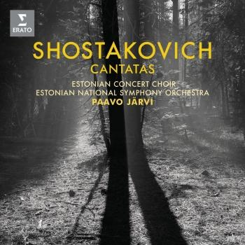 Cover Shostakovich: Cantatas 'Song of the Forests'