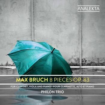 Cover Max Bruch: 8 Pieces, Op. 83