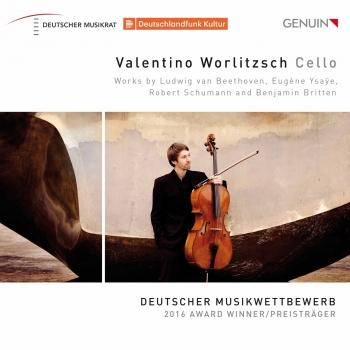 Cover Beethoven, Ysaÿe, Schumann & Britten: Cello Works
