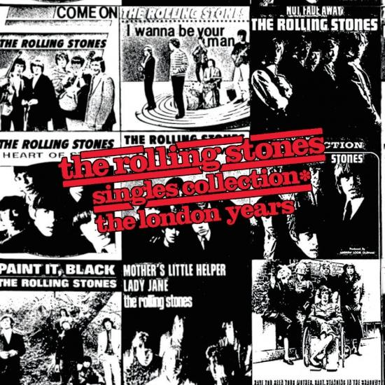 Cover The Rolling Stones Singles Collection: The London Years