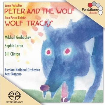 Cover Prokofiev: Peter and the Wolf, Op. 67 / Beintus: Wolf Tracks
