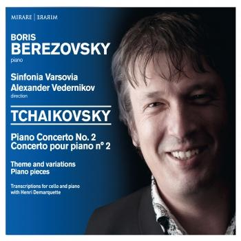 Cover Tchaikovsky: Piano Concerto No. 2 - Theme and variations - Piano pieces