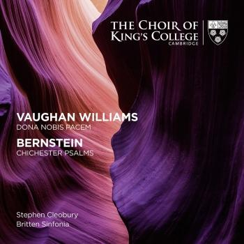 Cover Vaughan Williams: Dona Nobis Pacem - Bernstein: Chichester Psalms