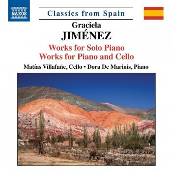 Cover Jiménez: Works for Piano & Cello