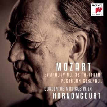 Cover Mozart: March in D Major K. 335, Serenade in D Major K. 320 'Posthorn-Serenade' & Symphony in D Major K. 385 'Haffner-Sinfonie'