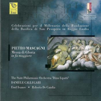 Cover Pietro Mascagni - Messa Di Gloria In Fa Maggiore (Remastered)