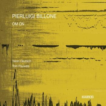 Cover Pierluigi Billone: OM. ON