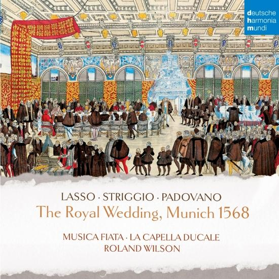 Cover The Royal Wedding, Munich 1568