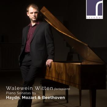 Cover Walewein Witten: Piano Sonatas by Haydn, Mozart & Beethoven