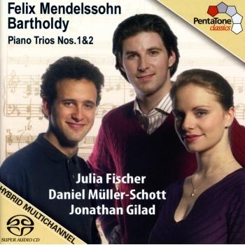 Cover Mendelssohn: Piano Trios Nos. 1 and 2