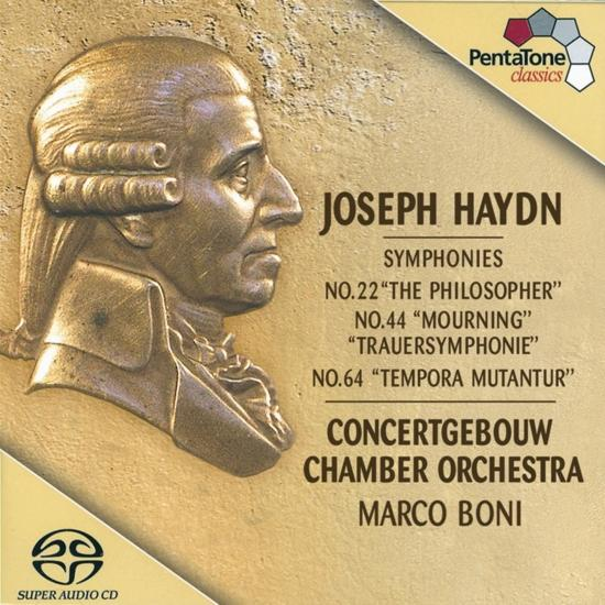 Cover Haydn Symphonies Nos. 22, 44, 64