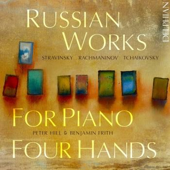 Cover Russian Works for Piano 4 Hands