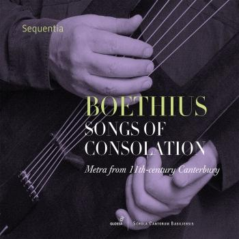 Cover Boethius: Songs of Consolation