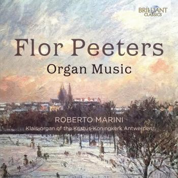 Cover Flor Peeters: Organ Music
