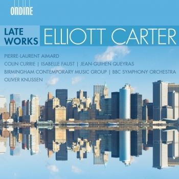 Cover Carter: Late Works