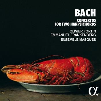 Cover Bach: Concertos for Two Harpsichords