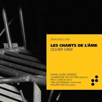 Cover Greif: Les Chants de l'âme (Live in Deauville)