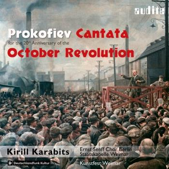Cover Prokofiev: Cantata for the 20th Anniversary of the October Revolution