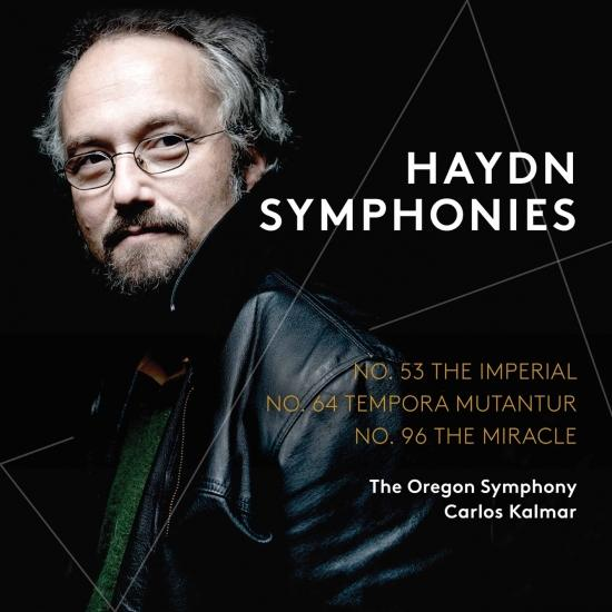 Cover Haydn: Symphonies Nos. 53, 64 & 96 (Live)
