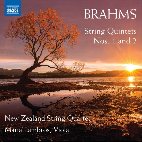 Cover Brahms: String Quintets Nos. 1 and 2