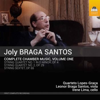 Cover Joly Braga Santos: Complete Chamber Music, Vol. 1