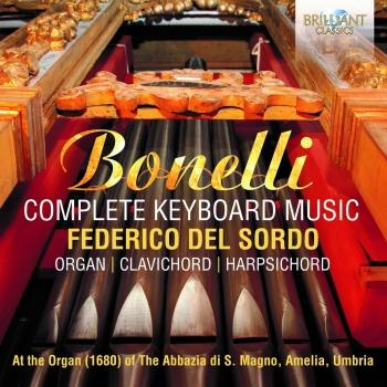 Cover Bonelli: Complete Keyboard Music