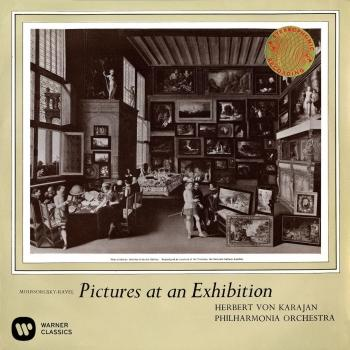 Cover Mussorgsky: Pictures at an Exhibition