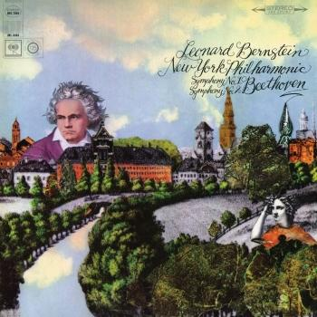 Cover Beethoven: Symphony No. 2 in D Major, Op. 36 & Symphony No. 1 in C Major, Op. 21 (Remastered)
