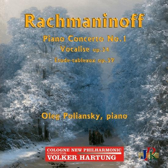Cover Rachmaninoff: Piano Concerto No. 1 in F-Sharp Minor, 14 Songs & Études-tableaux (Live)