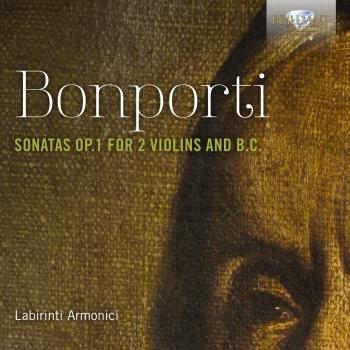 Cover Bonporti: Sonatas, Op. 1 for 2 Violins and B.C.