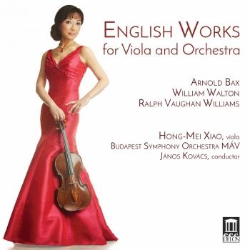 Cover English Works for Viola & Orchestra